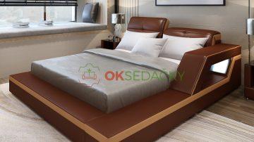 Kožená posteľ Beatrice